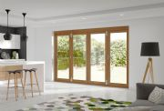 XL Joinery External Pre-Finished Oak La Porte Vista Mod 1 [4 Door] 3150 x 2098mm x 44mm